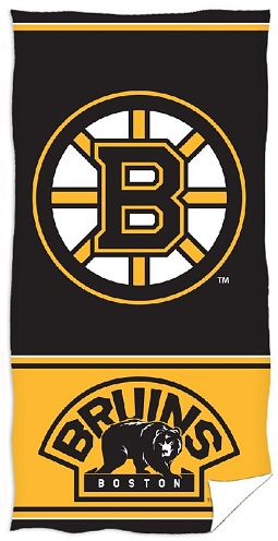 Osuška NHL Boston Bruins 70x140 cm