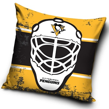 Polštářek NHL Pittsburgh Penguins 40x40 cm